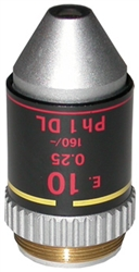NIKON 10X PHASE CONTRAST OBJECTIVE