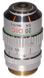 NIKON 20X DIC OBJECTIVE FOR THE TMS, DIAPHOT,