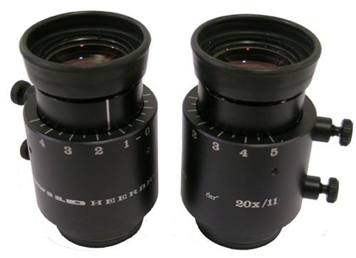 WILD 20X SURGICAL STEREOZOOM EYEPIECES