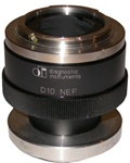 d10nef 1x f-mount adapter for nikon