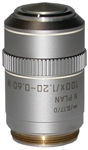 leica n plan 100x water immersion objective lens