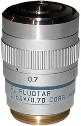 LEICA PL FLUOTAR L 63X LONG WORKING DISTANCE OBJECTIVE