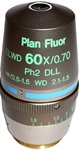 nikon 60x phase contrast objective lens
