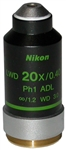 nikon phase contrast 20x adl objective lens
