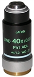 nikon phase contrast 40x adl objective lens