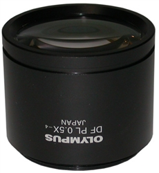 OLYMPUS 0.5X STEREO MICROSCOPE OBJECTIVE LENS