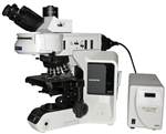 olympus bx53 compound fluorescence microscope