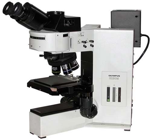 Olympus Bx60 Microscope Brightfield Darkfield Dic Nomarski