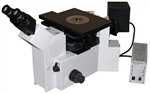 olympus inverted metallurgical polarized light microscope