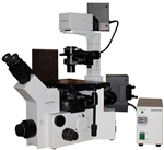 olympus ix70 microscope with dic, phase contrast and fluorescence