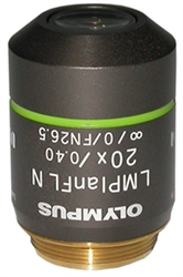 olympus lmplfln 20x objective lens