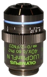 olympus lucplanfln 40x phase contrast objective