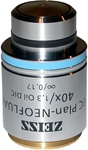zeiss ec plan neofluar 40x oil immersion objective